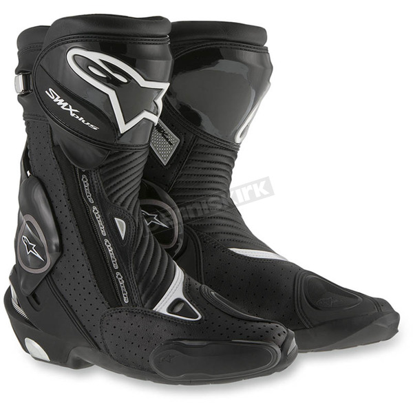 Alpinestars Black SMX Plus Vented Boots  - 2221015-100-43