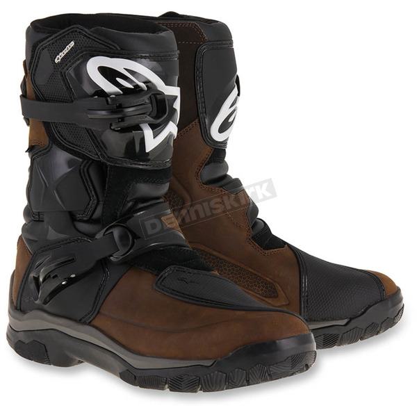 Alpinestars Brown Drystar Oiled Leather Boots - 2047117-82-7