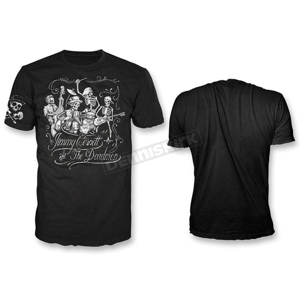 Lethal Threat Black Jimmy Cornett T-Shirt - HT20416M