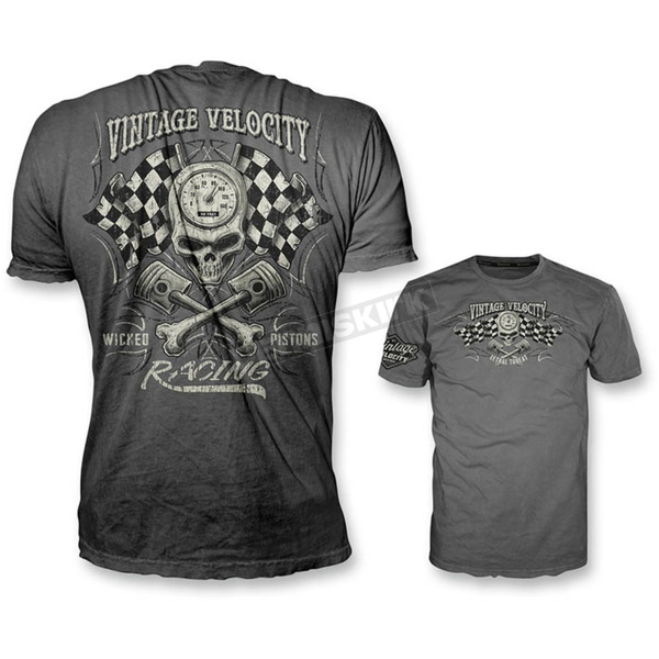 Lethal Threat Gray Wicked Pistons T-Shirt  - VV40111XXL