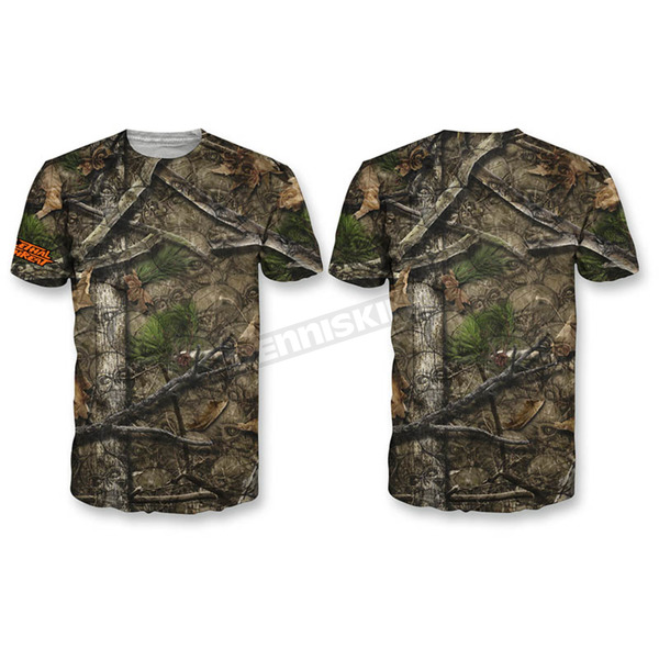 Lethal Threat Camo Backwoods Skull T-Shirt  - SC50508XXL
