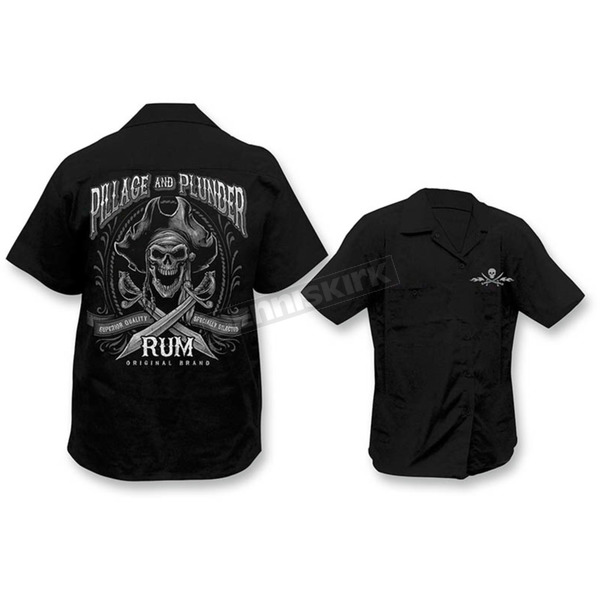 Lethal Threat Pillage and Plunder Work Shirts  - HW50176XL