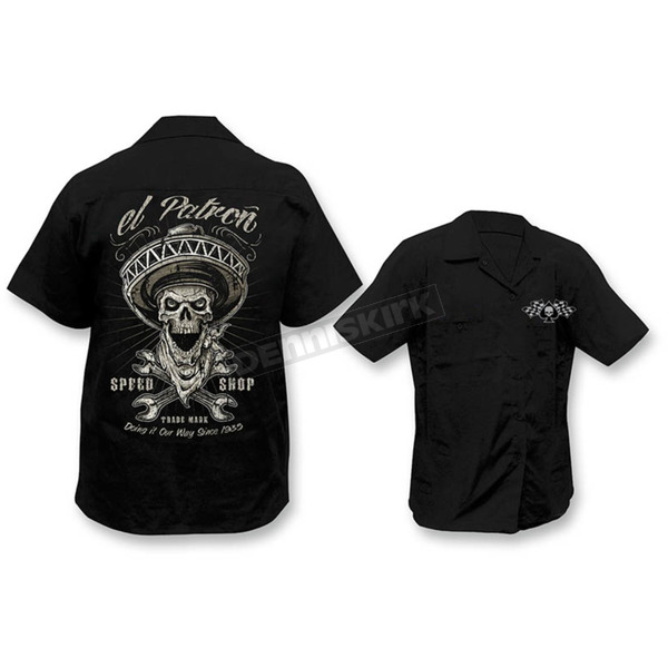 Lethal Threat El Patron Work Shirts  - HW50188M
