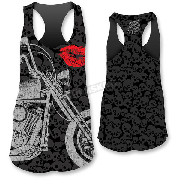Lethal Threat Womens Motorcycle Lips Tank Top - LT20327XXL