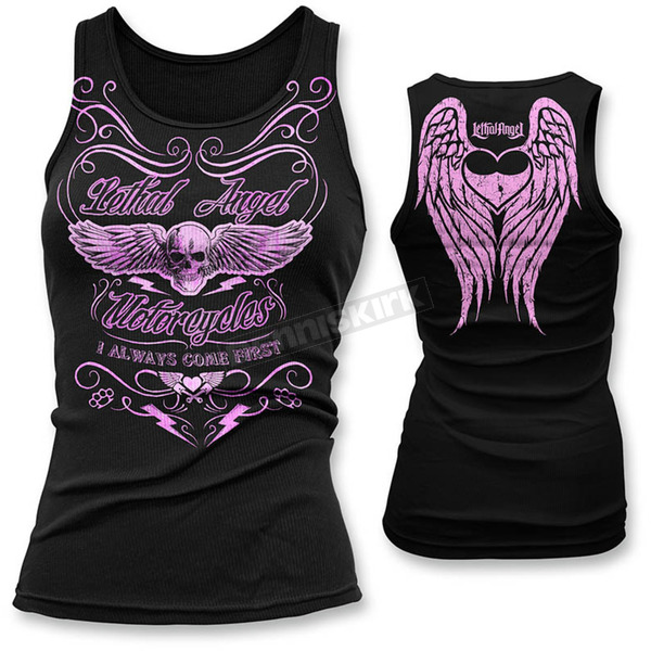 Lethal Threat Womens Come First Tank Top - LT20387L