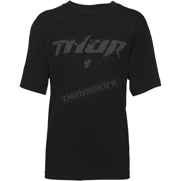 Thor Youth Black Roost T-Shirt  - 3032-2449