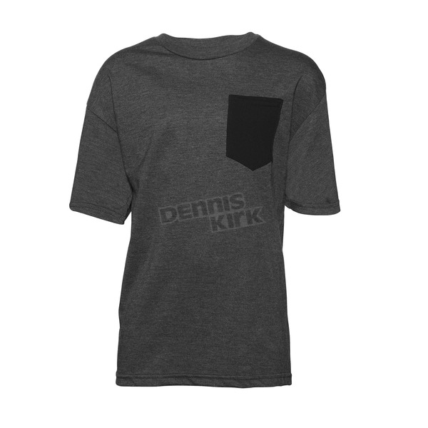Thor Youth Charcoal Shroud Pocket T-Shirt - 3032-2464