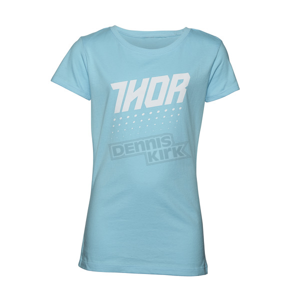 Thor Youth Girl's Teal Aktiv T-Shirt - 3032-2482
