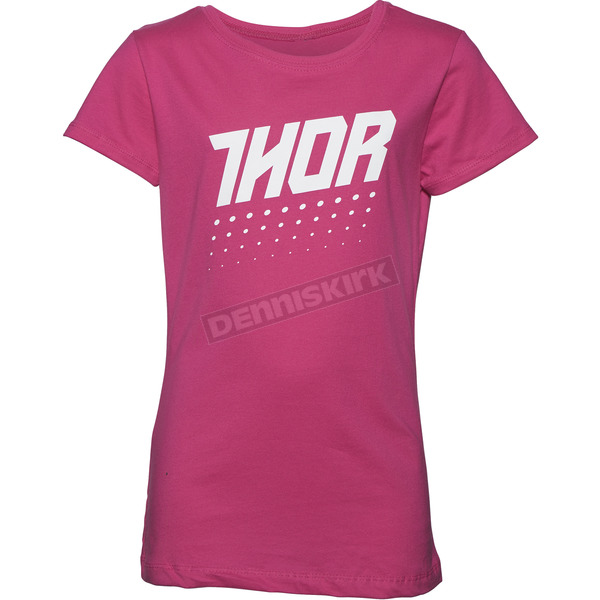 Thor Youth Girl's Raspberry Aktiv T-Shirt - 3032-2487