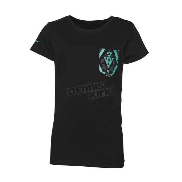 Thor Youth Girl's Black Facet T-Shirt - 3032-2494