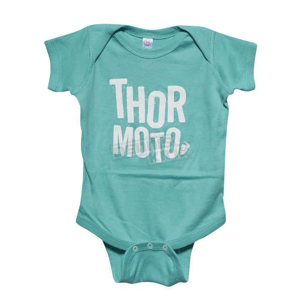 Thor Teal/White Infant Crush SuperMini T-Shirt - 3032-2521