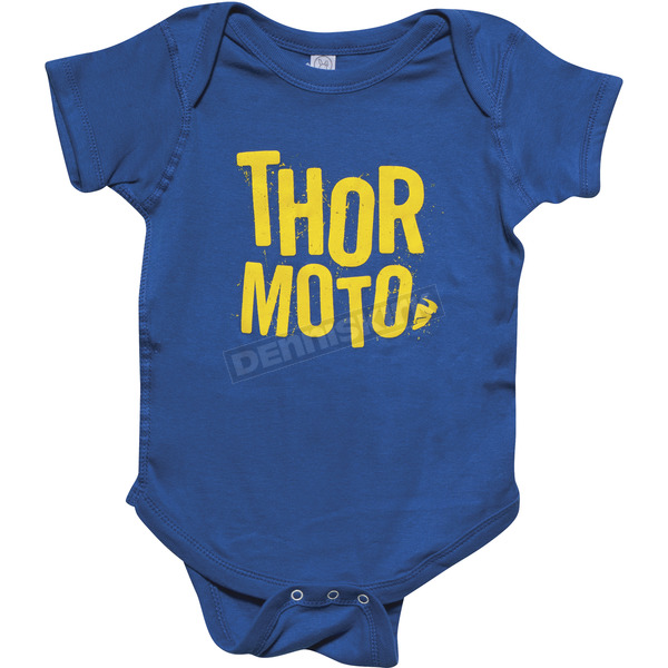 Thor Blue/Yellow Infant Crush SuperMini T-Shirt - 3032-2529
