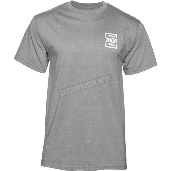 Thor Gray Heather Crew T-Shirt - 3030-14624