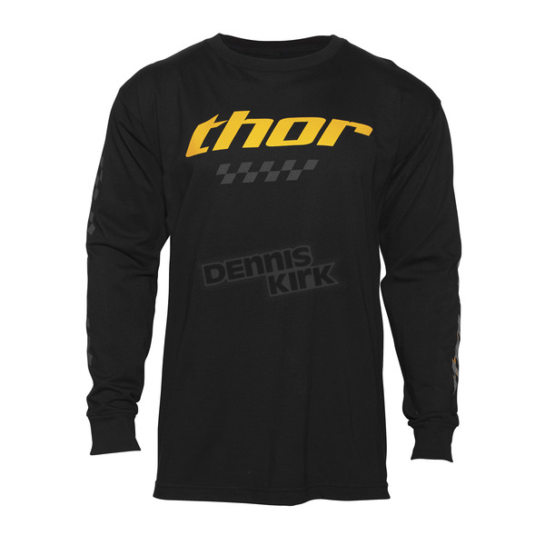 Thor Black Long Sleeve Charger Shirt  - 3030-14681