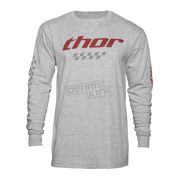 Thor Gray Long Sleeve Charger Shirt  - 3030-14687