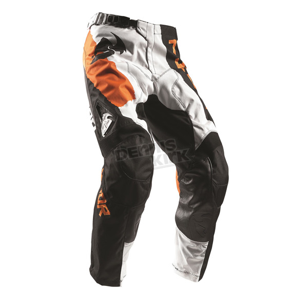 Thor Orange/White Pulse Taper Pants  - 2901-6318