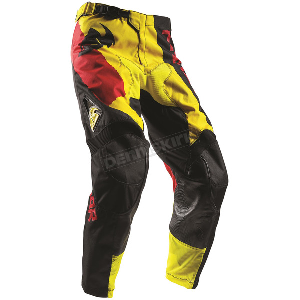 Thor Yellow/Red Pulse Taper Pants - 2901-6327