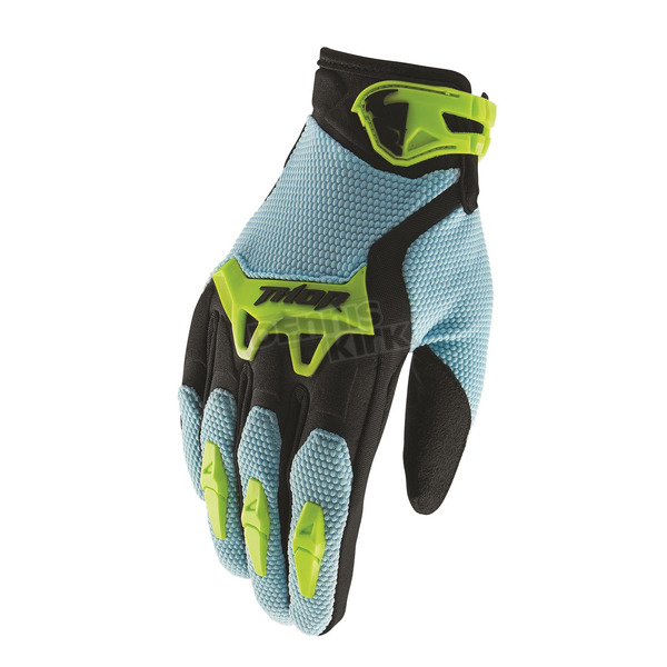 Thor Light Blue Spectrum Gloves  - 3330-4430