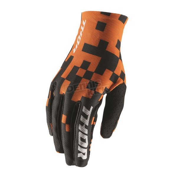 Thor Orange/Black Void Bits Gloves  - 3330-4452