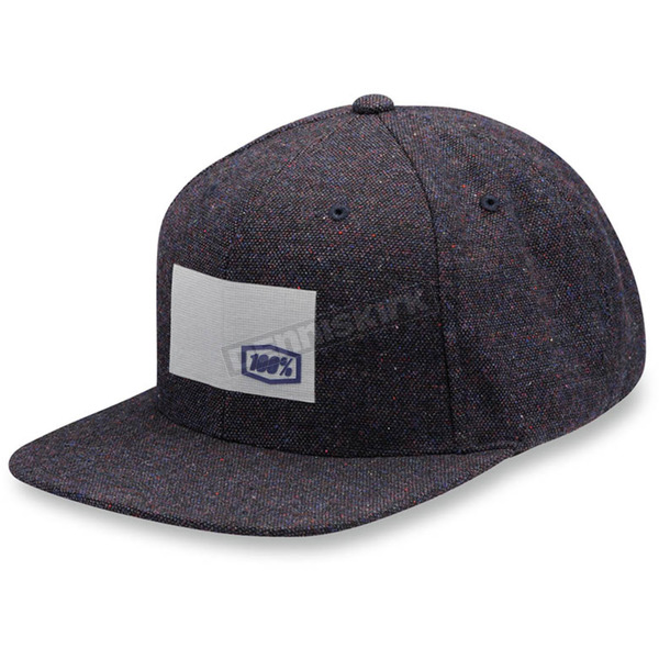 100% Noble Speckled Wool Snap Back Hat - 20053-015-01