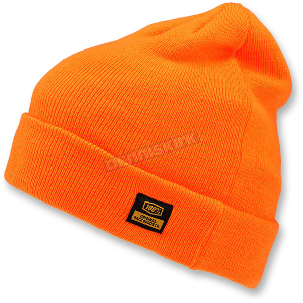 100% Orange Mikkeli Relaxed Fit Cuff Beanie - 20118-006-01