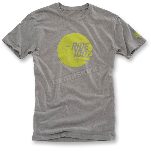 100% Heather Gray Shine T-Shirt  - 32055-188-13
