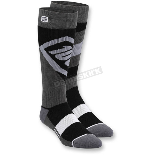 100% Youth Torque MX Socks - 24107-001-17