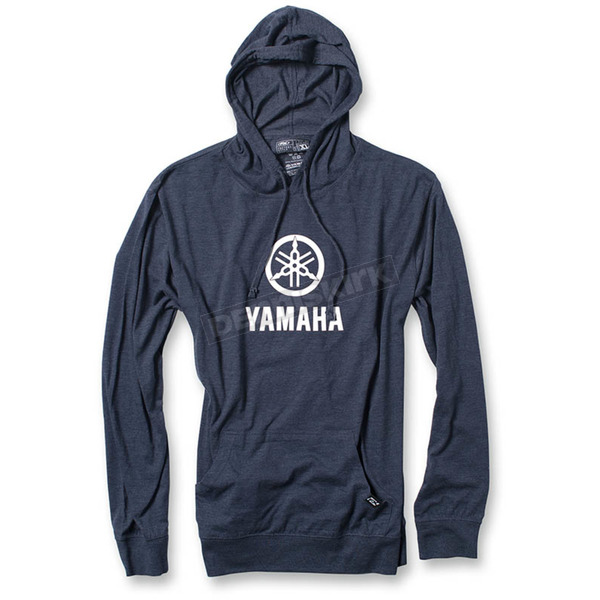Factory Effex Navy Yamaha Stacked Lightweight Pullover Hoody - 20-88218