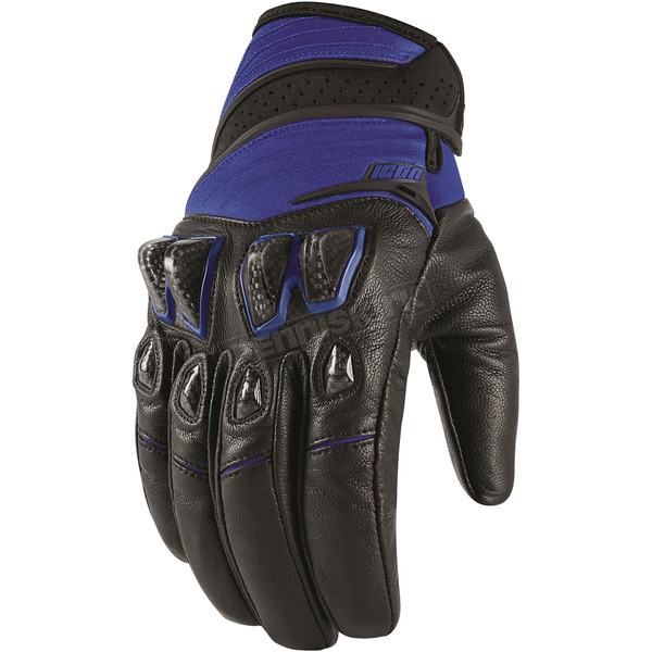 Icon Blue Konflict Gloves - 3301-2935