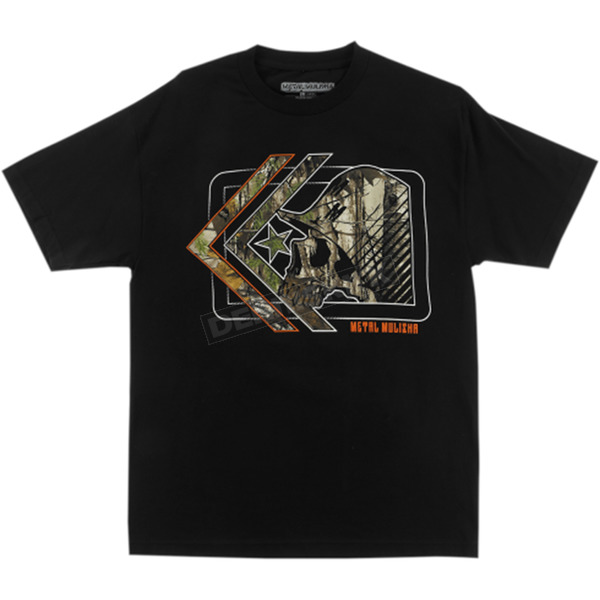 Metal Mulisha Realtree Hidden T-Shirt - FA6518020BLKM