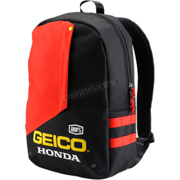 100% Geico Honda Haversack Backpack - 01900-001-01