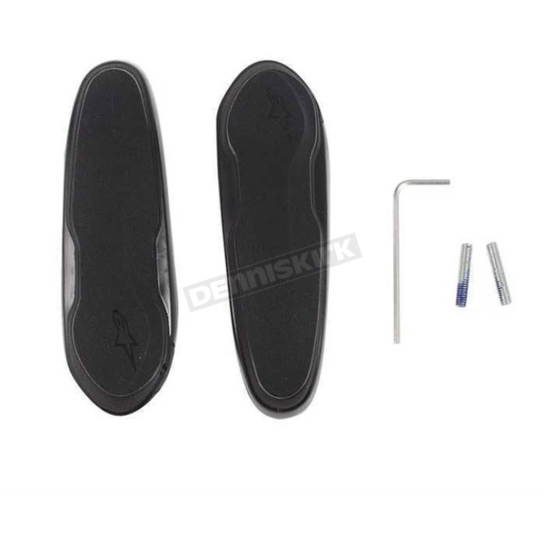 Alpinestars Replacement Black Toe Sliders for SMX-Plus Boots - 25SLI15-10