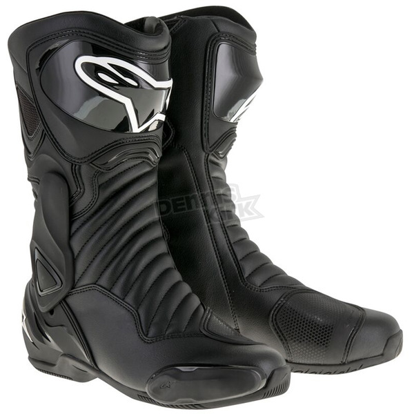 Alpinestars Black S-MX 6 V2 Boots - 2223017-1100-43