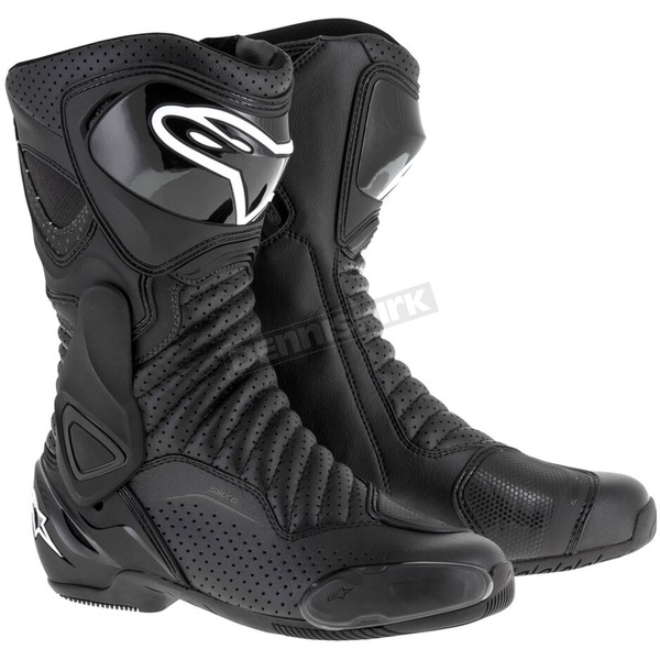 Alpinestars Black/Black SMX 6 V2 Vented Boot - 2223017-1102-37