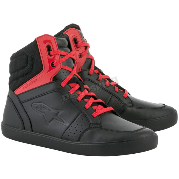 Alpinestars Black/Red J-8 Shoe - 25126171310