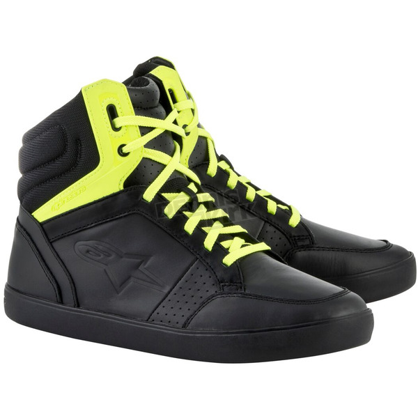 Alpinestars Black/Fluorescent Yellow J-8 Shoe  - 2512617155125