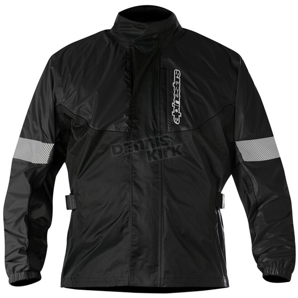 Alpinestars Black Hurricane Rain Jacket  - 3204617-10-L