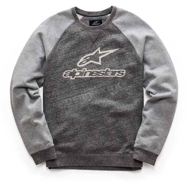 Alpinestars Charcoal Heather Pace Fleece Sweatshirt  - 101752002191BM