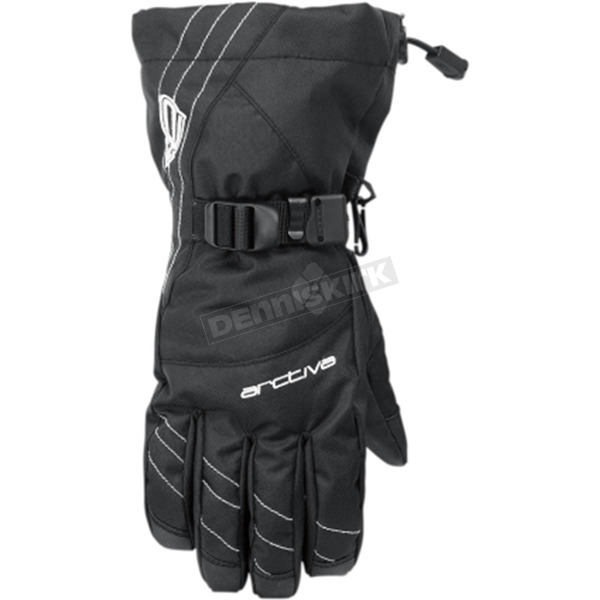 Arctiva Women's Black Pivot Gloves  - 3341-0374