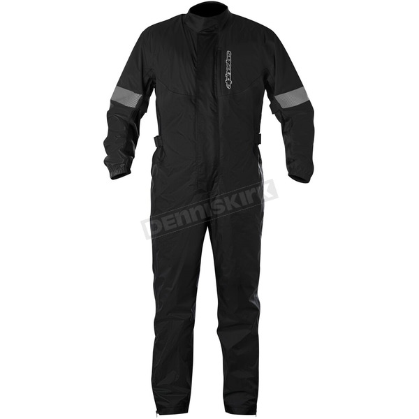 Alpinestars Black Hurricane Rain Suit  - 3264617-10-S
