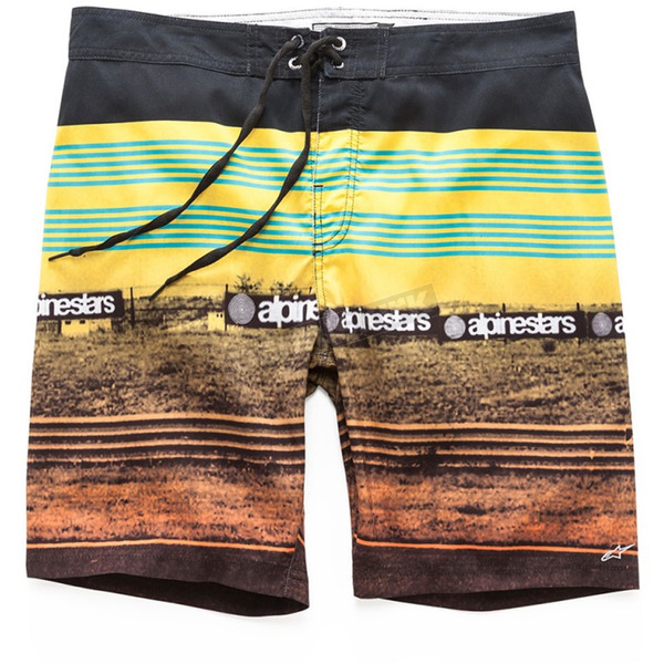 Alpinestars Yellow Chicaneless Swim Trunk - 101724013-50-28