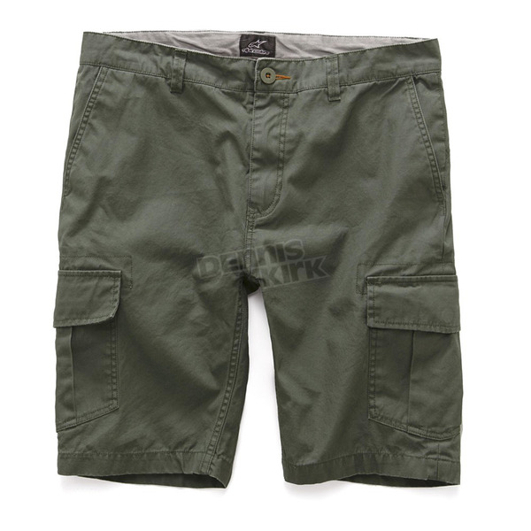 Alpinestars Military Green Constructor Shorts - 101723002608-30