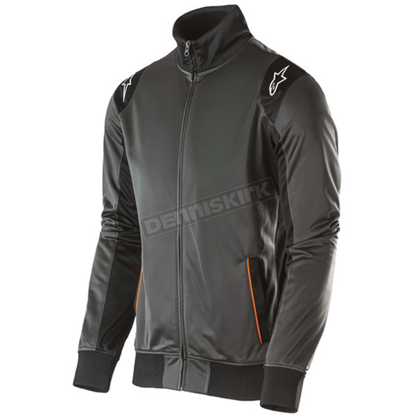 Alpinestars Charcoal Spa Track Jacket  - 101511006-18-S