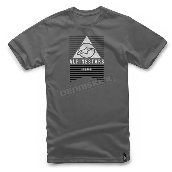 Alpinestars Charcoal Awakens T-Shirt - 101772010-18-2X