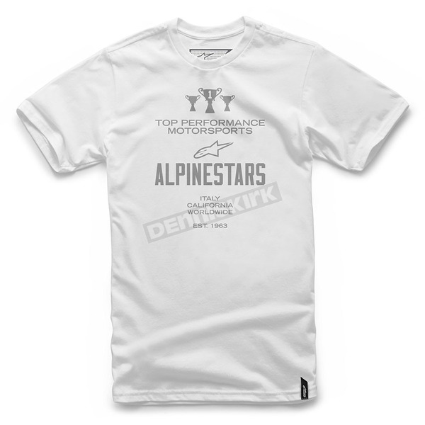 Alpinestars White Worldwide T-Shirt  - 101772012-20-L