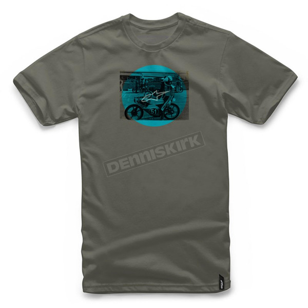 Alpinestars Military Green Task T-Shirt  - 101772020690-2X