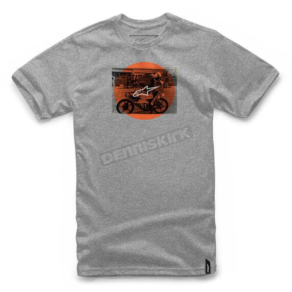 Alpinestars Athletic Heather Task T-Shirt  - 101772020182-S