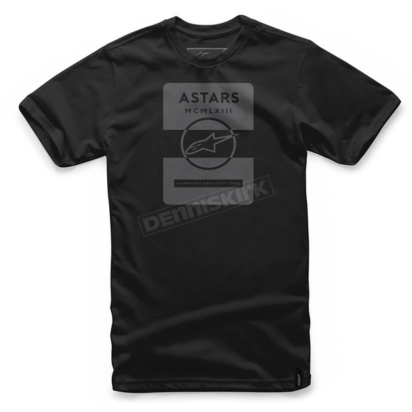 Alpinestars Black Kar T-Shirt  - 101772003-10-M