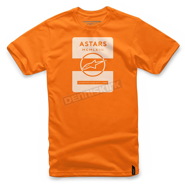 Alpinestars Orange Kar T-Shirt  - 101772003-40-L