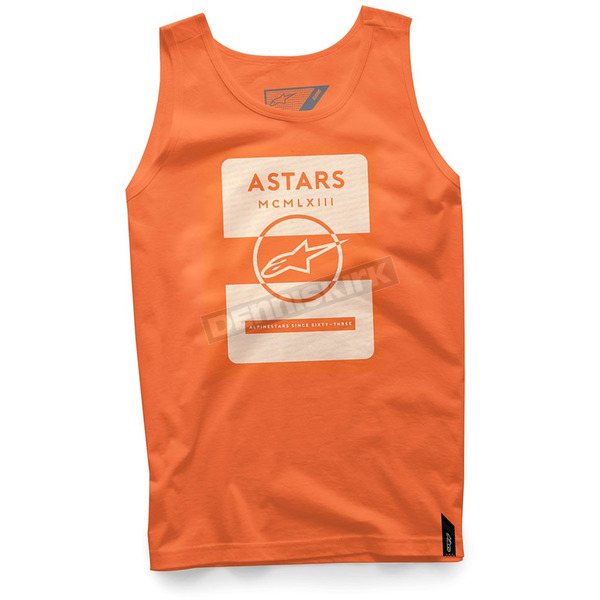Alpinestars Orange Kar Tank - 101774005-40-S